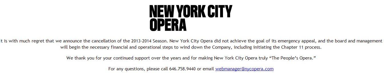 New York City Opera